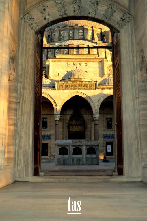 …Süleymaniye Taç Kapısı