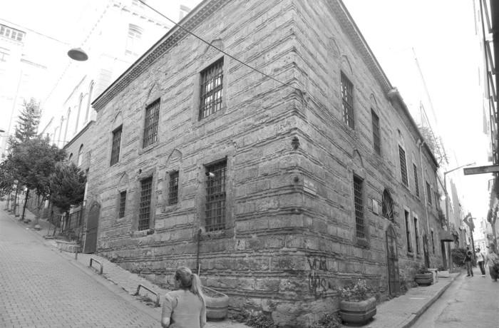 Karaköy Galata Kart Çınar Sokak