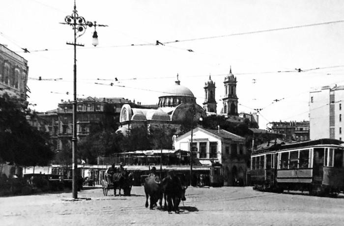 TAKSIM'DE BALKAN GÖÇMENLERI 1913