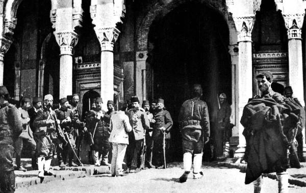 27.04.1909 HAREKETORDUSU TAKSIM'DE